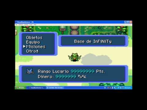 Pokemon mundo misterioso equipo de rescate rojo CODES
