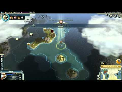 Civilization V - Caravelas astecas?