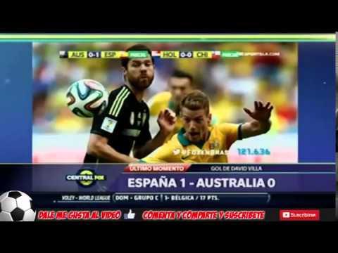 Australia vs españa 0-3 2014 → Analisis ← mundial brasil 2014-23-06 2014 junio españa 3 australia 0