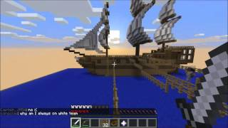 Minecraft Pirates Minigame PhanaticMC Part 2
