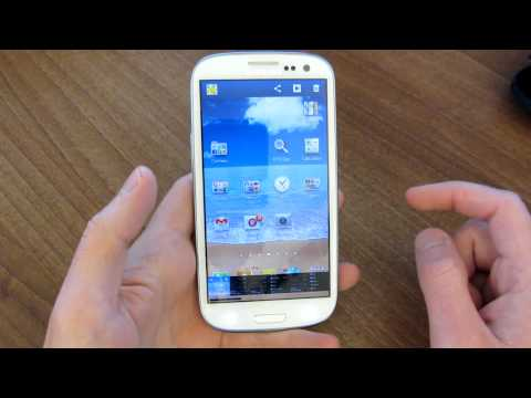 How to take a screenshot on the Samsung Galaxy S3