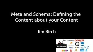 Meta and Schema: Defining the Content about your Content