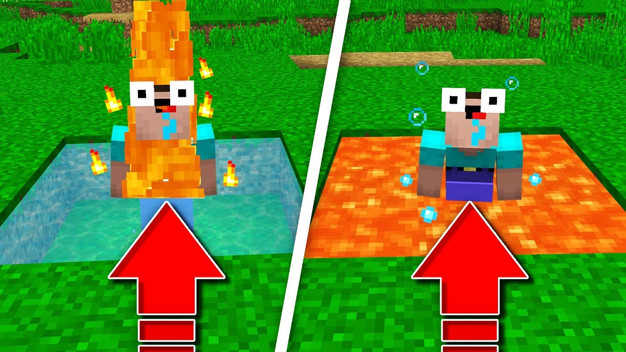 IF LAVA AND WATER SWITCHED!
