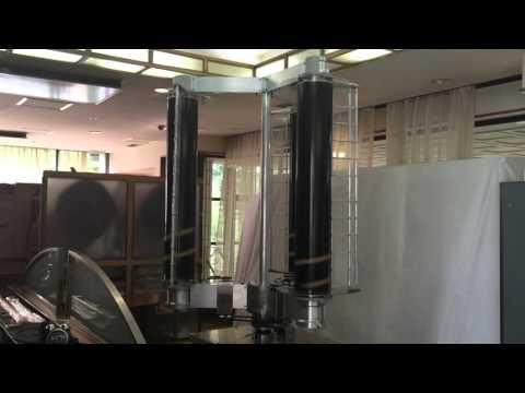 チャレナジー_垂直軸型マグナス風力発電機_風洞実験用試作機 実験動画 - YouTube (10月27日 03:00 / 12 users)