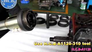 H.C.B-A1120 TRUCK TRANSMISSION BEARING PULLER & OPTIONAL ACCESSORY