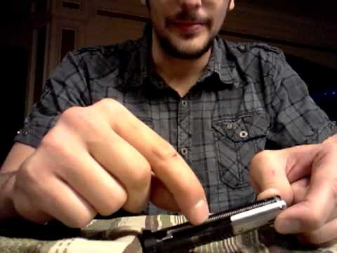 Ruger Mark 3 22/45 troubleshooting assembly