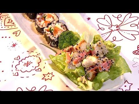 現代心素派-20150224 小廚師廚房 - 魏立恩、小魚媽 - 彩色和風水果沙拉、蔬果起司飯卷