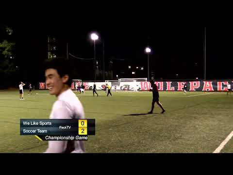 2019 NC State IM Soccer Championship - Soccer Team vs. We Like Sports