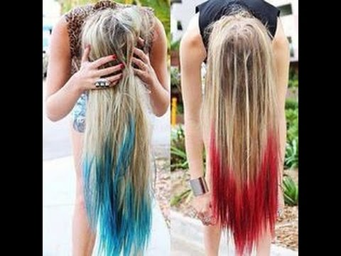 How to Dye Your Hair with Koolaid!
