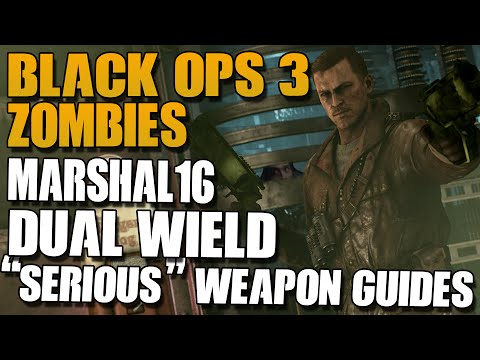 MARSHAL 16! - BLACK OPS 3 ZOMBIES SRS WEAPON GUIDE!