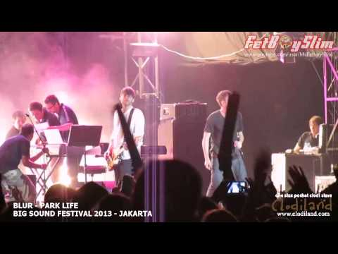 BLUR - PARK LIFE live at Big Sound Festival Jakarta, Indonesia 2013