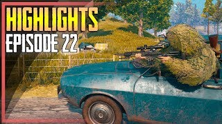 PUBG Highlights #22 - Best Plays and Unbelievable Moments (PlayerUnknown's Battlegrounds)