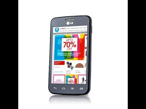 LG Optimus Dynamic II Android TracFone with 3MP Camera a...