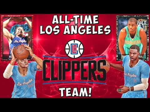 All-Time Los Angeles Clippers - NBA 2K15 MyTeam - Ruby Blake Griffin & Onyx Chris Paul - FGF