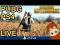 PUBG PS4 --- LIVE GAMEPLAY // Hi friends!