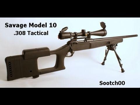 Savage Model 10 Tactical .308 Rifle