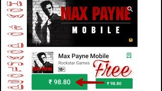 How to download Max Payne on android (free)