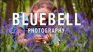 Children Portrait Idea - The Classic Bluebell Shot