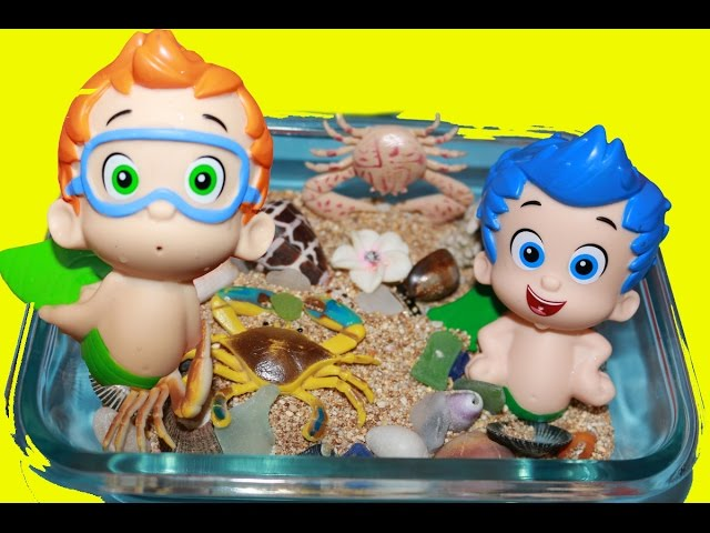 Bubble Guppies Surprise Eggs Mermaid Stacking Cups Nickelodeon Toys Collector