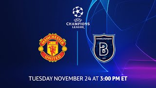 Manchester United vs İstanbul Başakşehir: Group Stage Preview - Matchday 4 | UCL on CBS Sports
