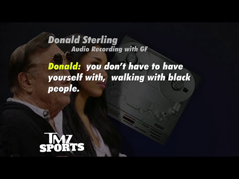 Clippers Owner Donald Sterling to Girlfriend: Don't Bring Black People to My Games (Audio)