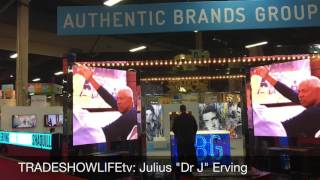 Dr J at Licensing Expo