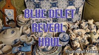 Blue Delft Reveal