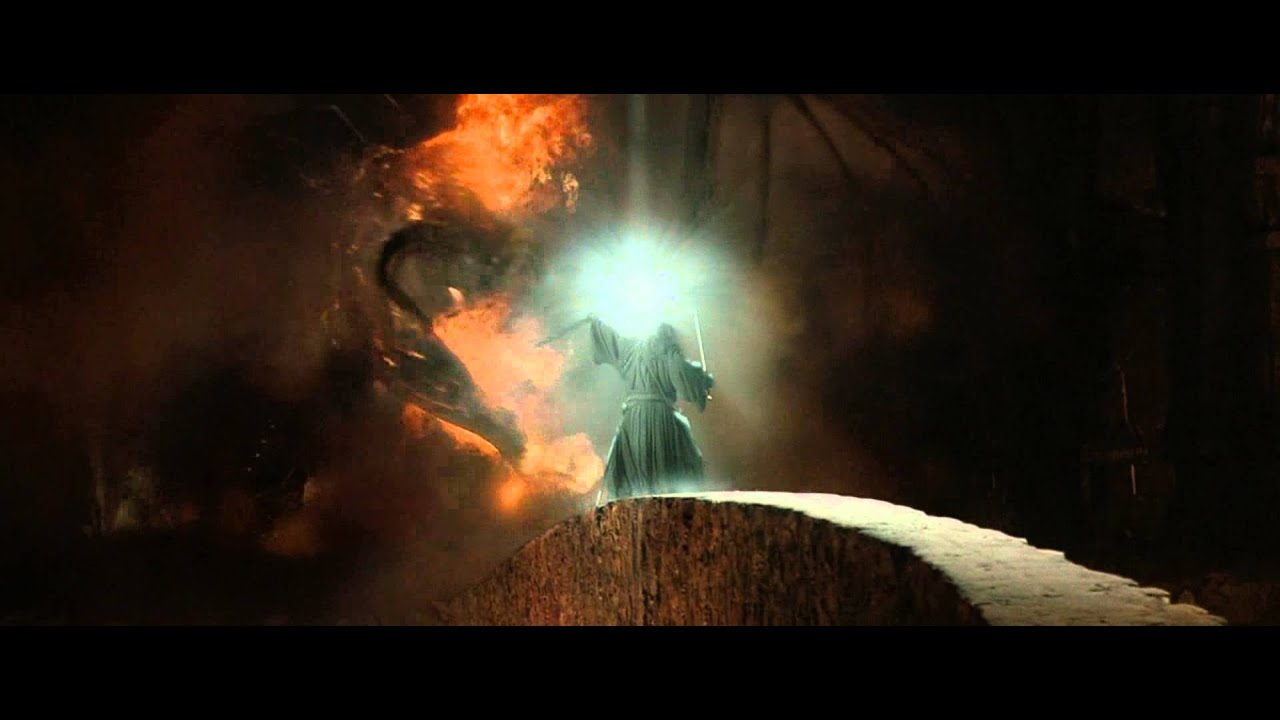 Balrog Lord Of The Rings Meme