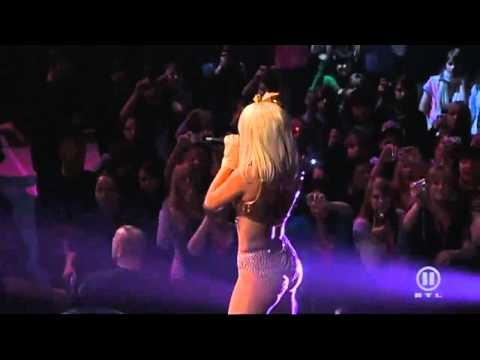 Lady GaGa   Just Dance  amp; Poker Face Live @ The Dome 49 Music Videos