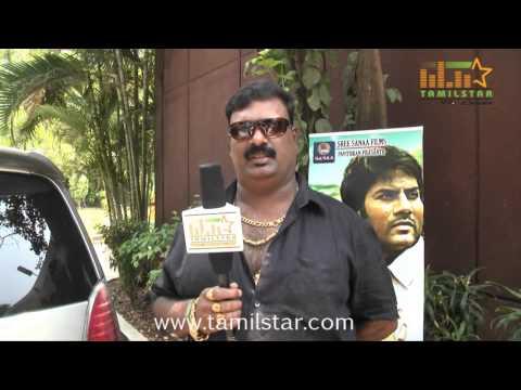 Stunt Master Thalapathi Dinesh at  Vilasam Movie Press Meet