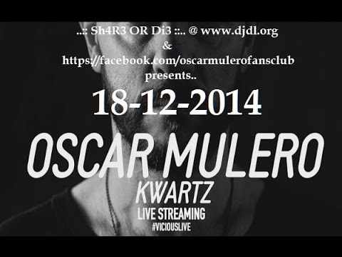 Oscar Mulero @ Hotel Innside Madrid Suecia (Vicious Live) - 18-12-2014