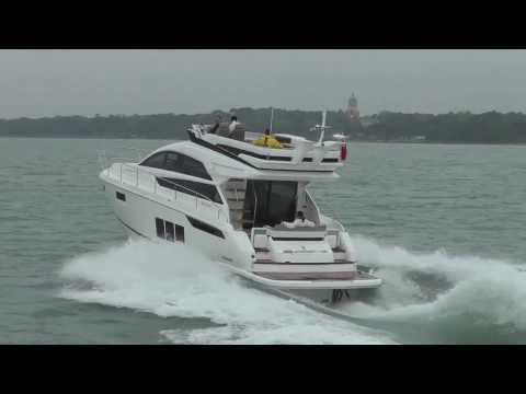 Fairline Squadron 48 from Motor Boat & Yachting