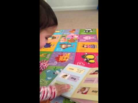 My 21 month old baby can read-part 2