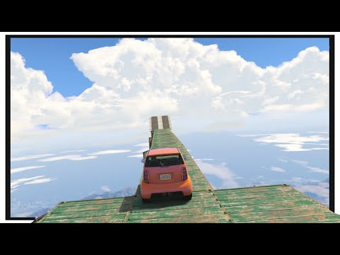 GTA 5 Funny Moments : Panto Sky High Race! (Olli43 vs Geo23)