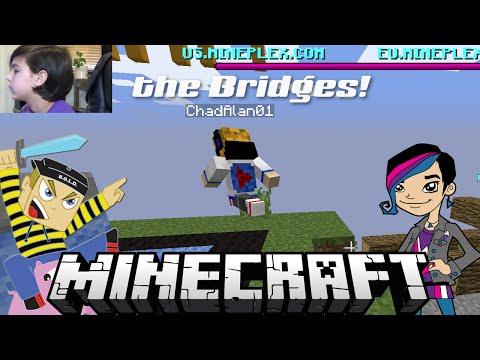 Minecraft Monday EP58 - Bridges GamePlay with Gamer Chad Alan on Mineplex