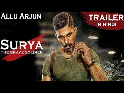 Surya - The Brave Soldier | Allu Arjun Latest Hd hindi dubbed Trailer