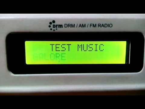 All India Radio Bangalore DRM 7550 kHz 2nd Program VBS