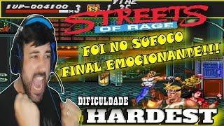 STREETS OF RAGE (MEGA DRIVE) GAMEPLAY HARDEST