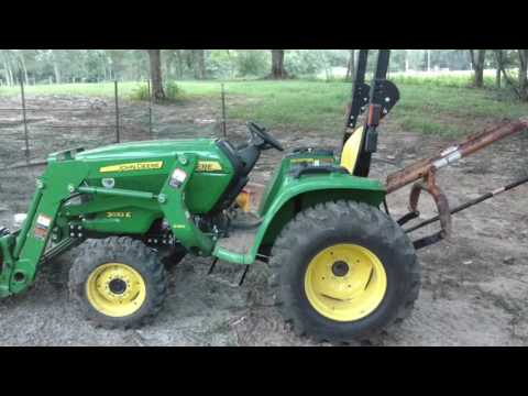 John Deere 3032e first review 76hrs