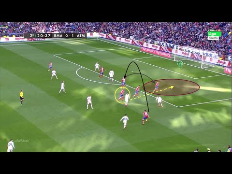 "Atletico de Madrid - Real Madrid | ""El Cholo"" Diego Pablo Simeone (Analysis)"