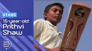 15-year-old Prithvi Shaw: The Next Sachin Tendulkar?