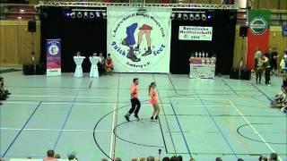 Johanna Weber & Stefan Nuscheler - Landesmeisterschaft Bayern 2015