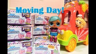 LOL Dolls Moving In With Shopkins Happy Places Blind Bags