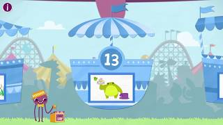 Learn Number Thirteen 13 in English & Counting, Math by Endless Alphabet   Kids Educational Video