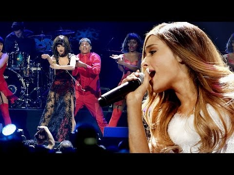 Ariana Grande Calls Out Selena Gomez for Jingle Ball Lip Sync?!