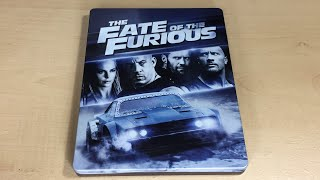 The Fate of the Furious - Best Buy Exclusive 4K Ultra HD Blu-ray SteelBook Unboxing