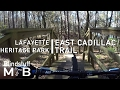 Mountain Biking the East Cadillac Trail in Tallahassee, FL