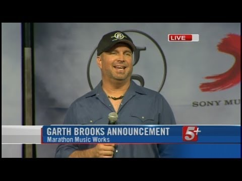 Full Press Conference: Garth Brooks Announces New Record Deal, Album video