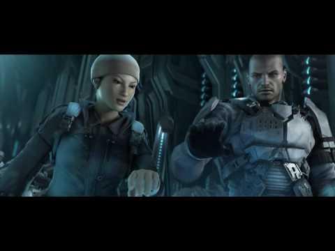 Классный фантастический мультфильм  Halo Wars 2009.