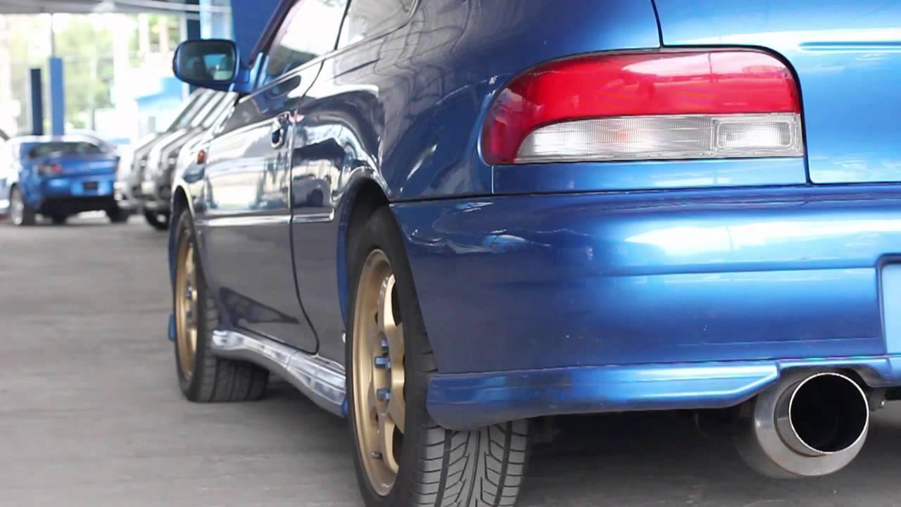 Apexi Gt Spec Cat Back Exhaust Sound Subaru Impreza Gc8
